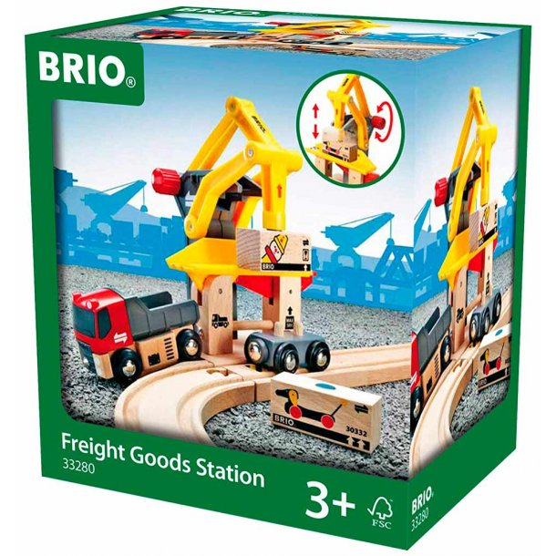 Brio Fragtgods Station