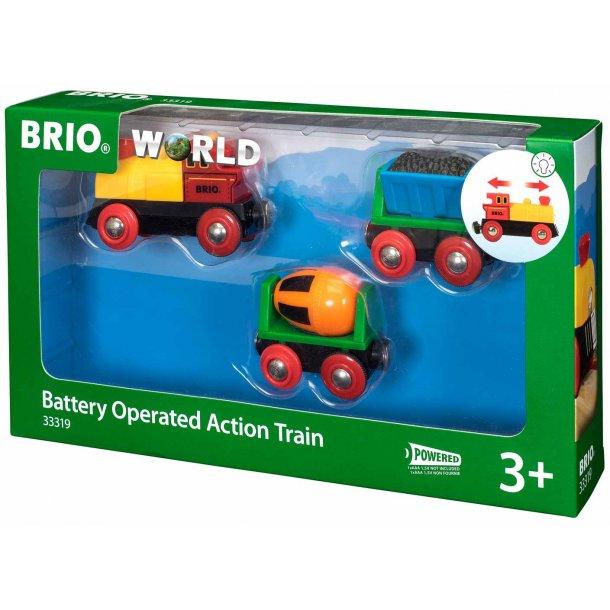 Brio Batteridrevet aktivitetstog
