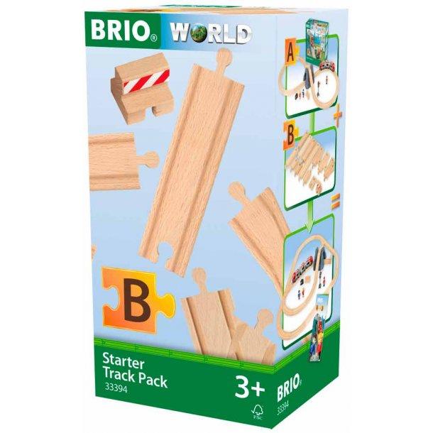 Brio Start pakke med 13 skinner