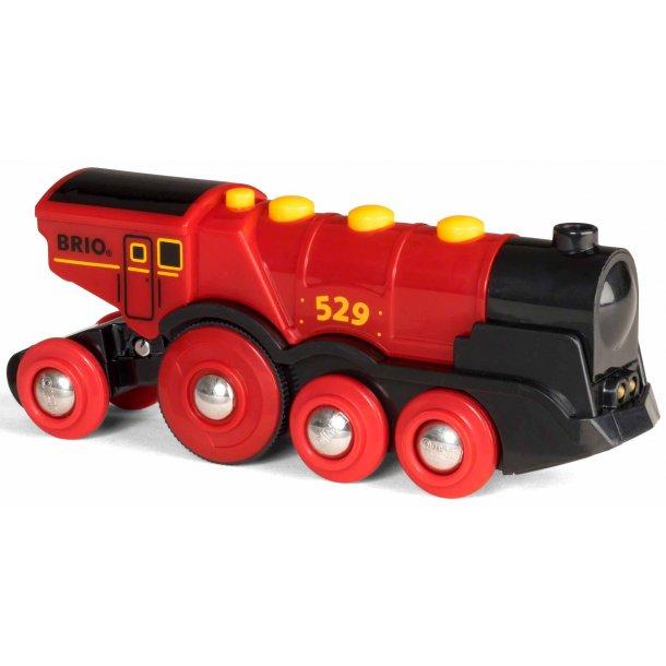 Brio batteridrevet stort lokomotiv