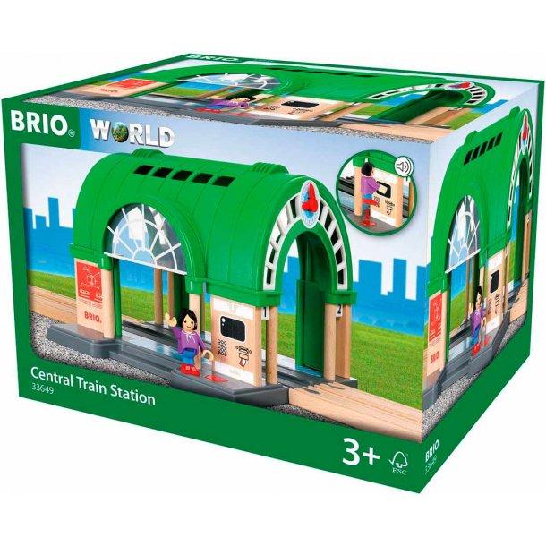 Brio togstation med lyd