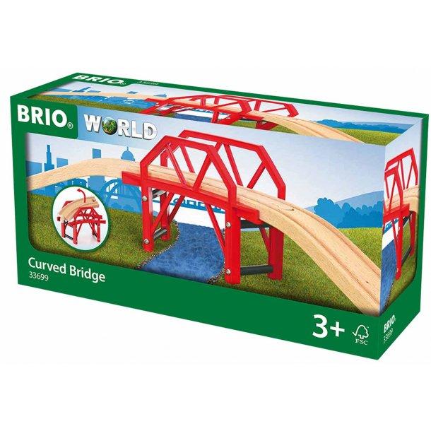Brio bro med sving