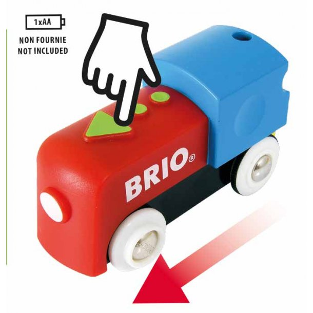 Brio Min Første Togbane Med Batteritog