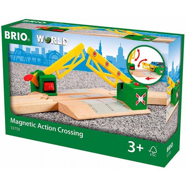 Brio magnetisk Jernbaneoverskæring