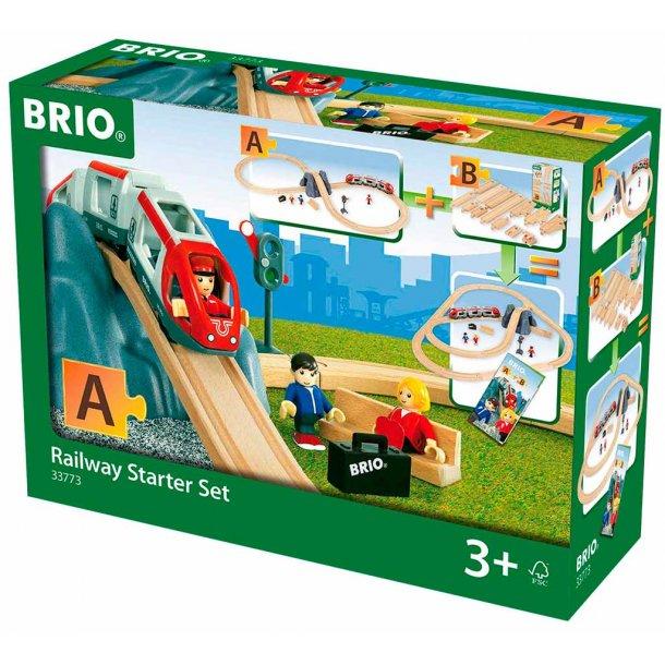 Brio togbane start sæt - 26 dele
