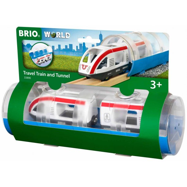 Brio Passagertog og Tunnel