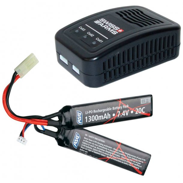 7,4v LiPo batteri pakke