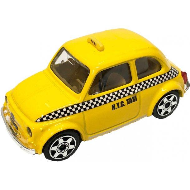 Burago Fiat 500 NYC Taxi
