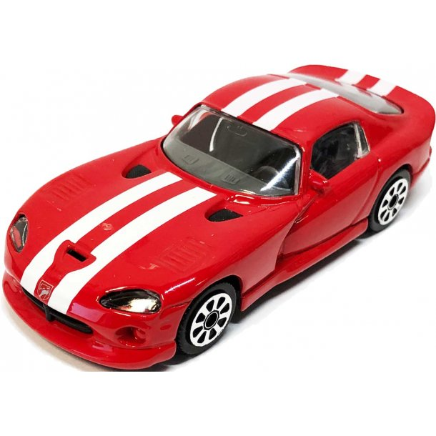 Burago Dodge Viper Rt10 red