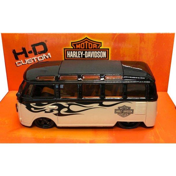 Harley-Davidson Volkswagen van - 1:25