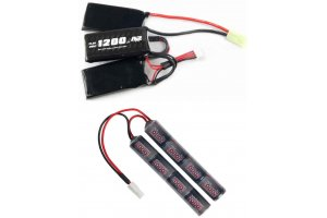 Batterier & oplader