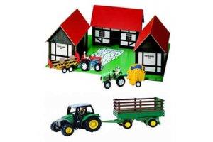 Træbondegård & tilbehør