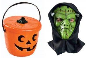 Halloween dragter og tilbehør.