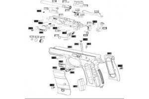Pistol dele