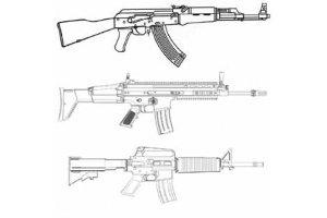 reservedele til rifler