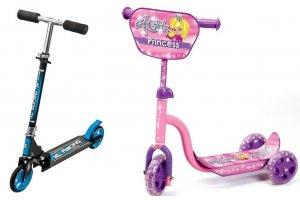 Løbehjul og stuntløbehjul i mange varianter