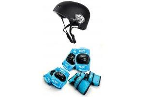 Sikkerhedsudstyr til rulleskøjter, løbehjul og skateboard
