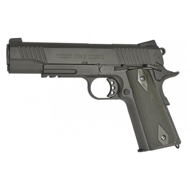Colt M1911 black - Fuld metal - blow back