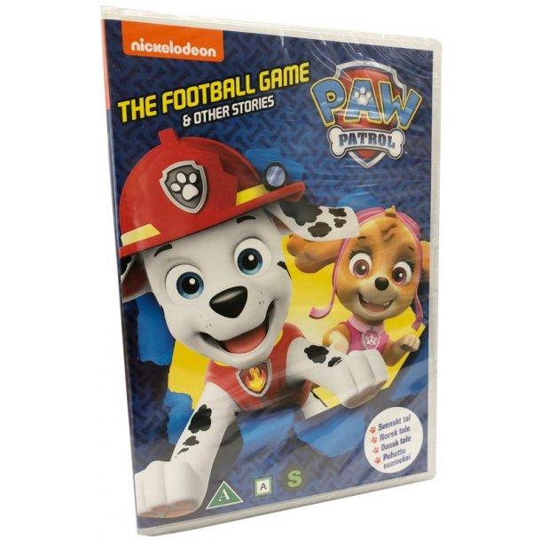 Paw Patrol - The football game og andre eventyr - sæson 3 vol. 1