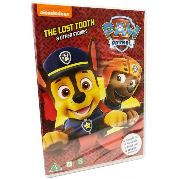 Paw Patrol - The lost tooth og andre eventyr - sæson 3 vol. 2