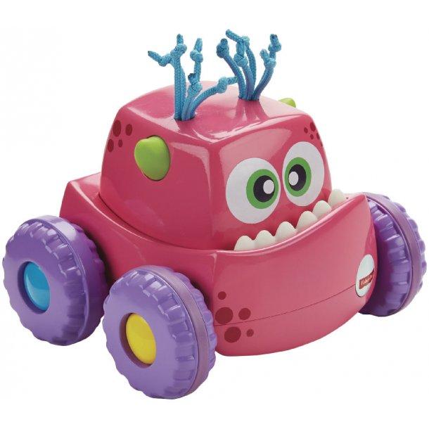 Press 'n go monster truck - pink