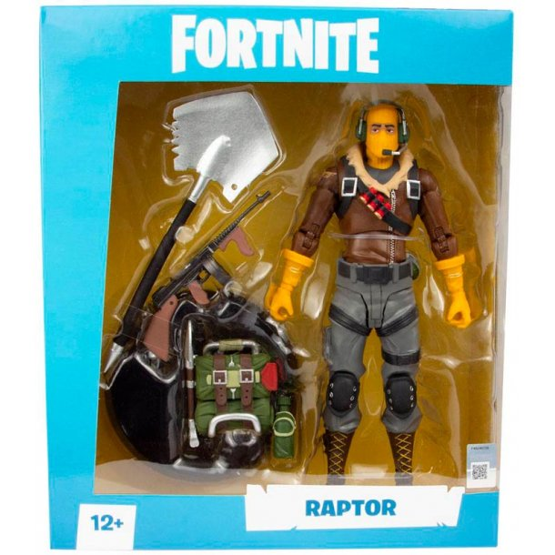 Fortnite Raptor action figur - 18 cm.