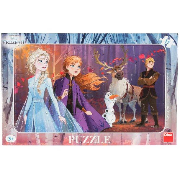 Frozen II puslespil - 15 brikker