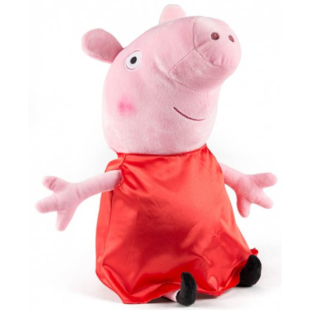Gurli gris bamse rød ananas bluse - 45 cm