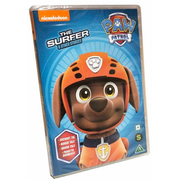 Paw Patrol The Surfer DVD