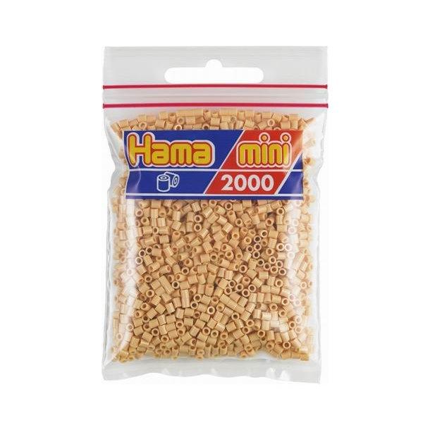 Hama mini perler 501-27 2000 stk. beige