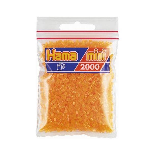 Hama mini perler 501-38 2000 stk. neon orange