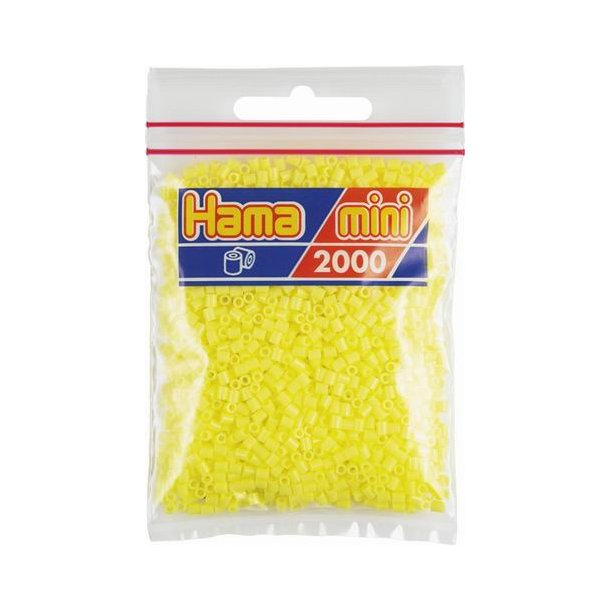 Hama mini perler 501-43 2000 stk. pastel gul