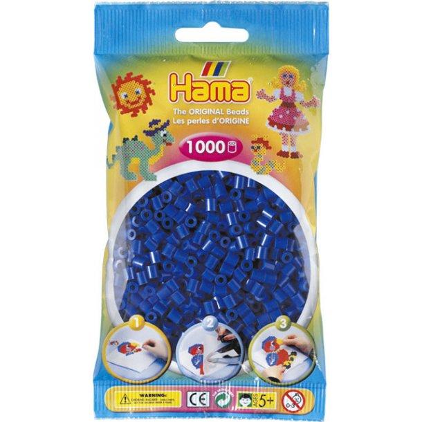 Hama midi perler 207-08 1000 stk. Blå