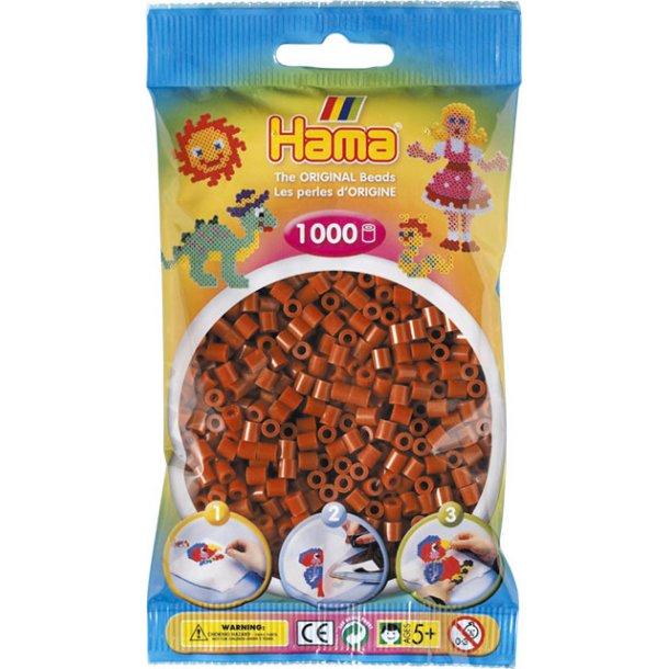 Hama midi perler 207-20 1000 stk. rødbrun