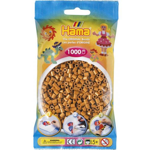 Hama midi perler 207-21 1000 stk. lysebrun