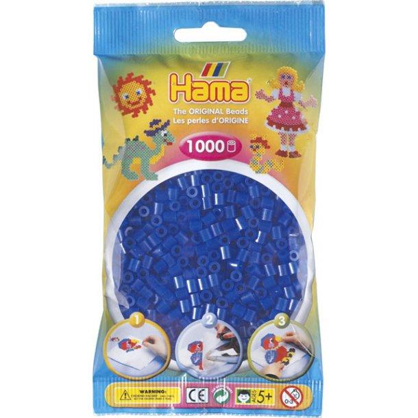 Hama midi perler 207-36 1000 stk. neon blå