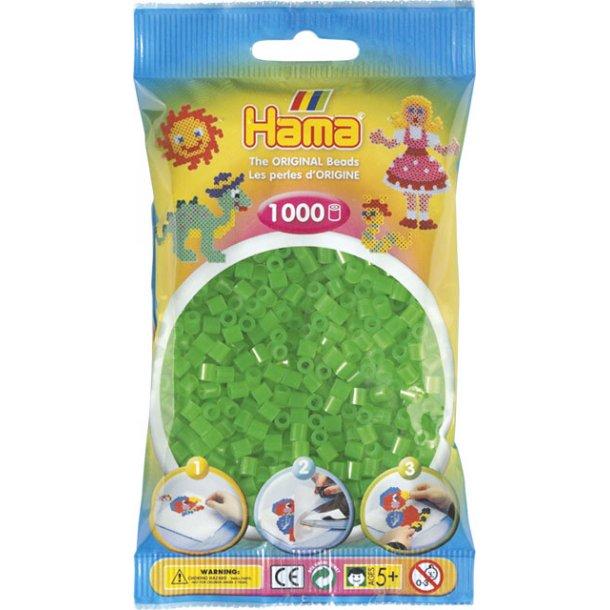 Hama midi perler 207-37 1000 stk. neon grøn
