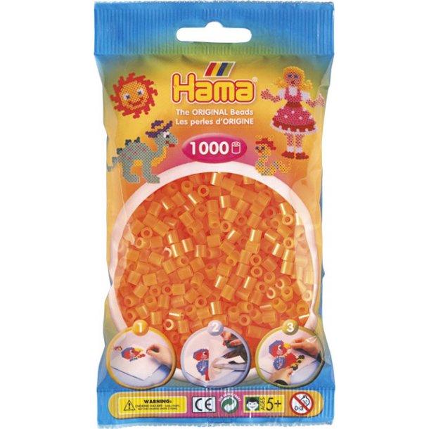 Hama midi perler 207-38 1000 stk. neon orange