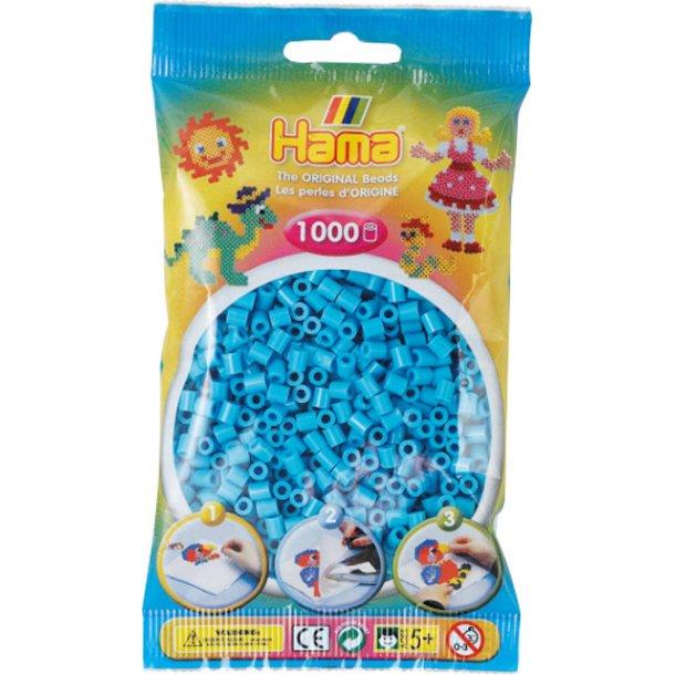 Hama midi perler 207-49 1000 stk. azurblå