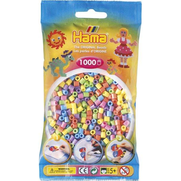 Hama midi perler 207-50 pastel farvet perlemix
