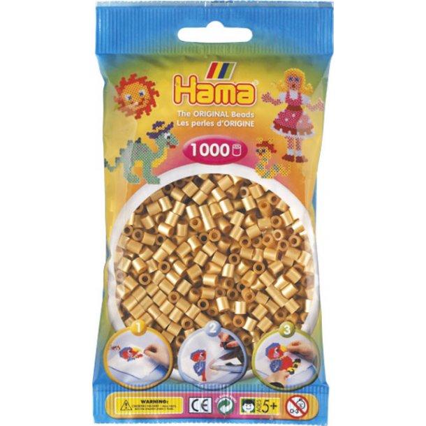 Hama midi perler 207-61 1000 stk. guldfarvet