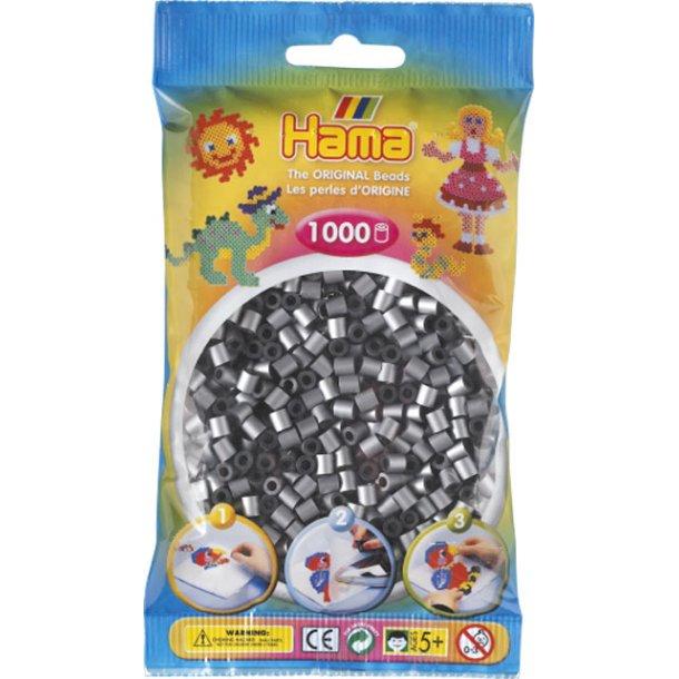 Hama midi perler 207-62 1000 stk. sølvfarvet
