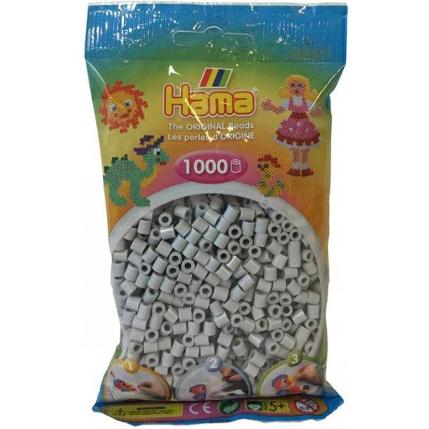 Hama midi perler 207-70 1000 stk. lys grå