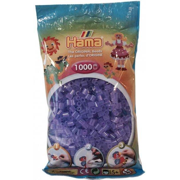 Hama midi perler 207-74 1000 stk. transparent lilla