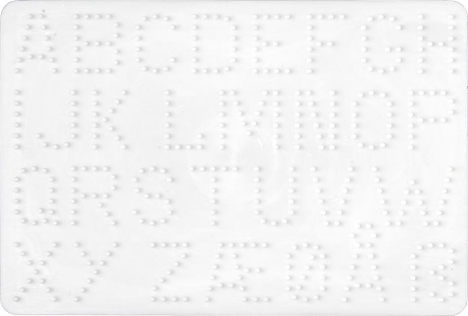 Dejlig Hama alfabet perleplade med plads til 432 midi perler - se her BQ-65