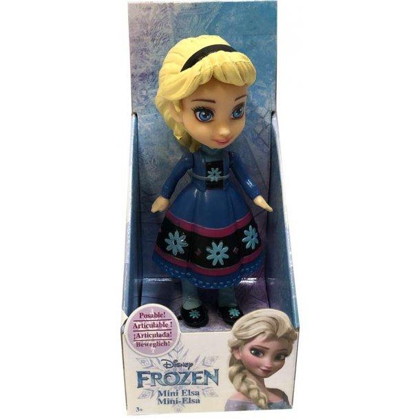 Frozen Mini Elsa med blomster kjole