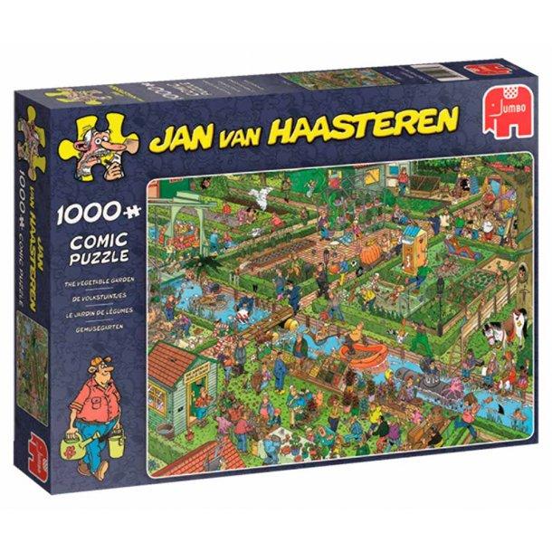 Jan van Haasteren Vegetable garden 1000 brikker