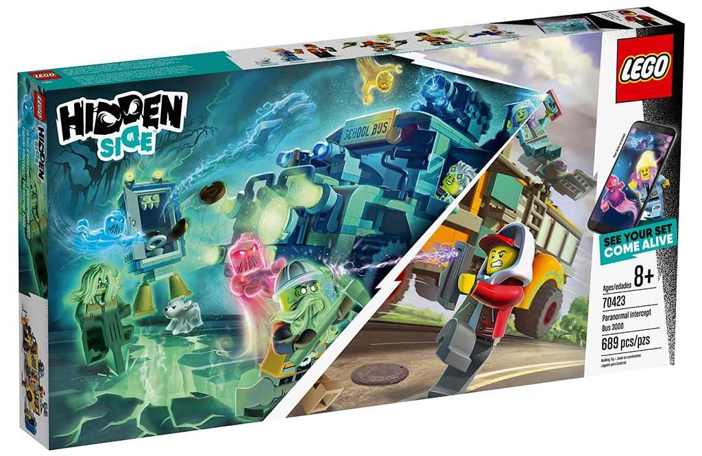 Lego Hidden Side 70423 Paranormal Fangstbus Kob Den Her