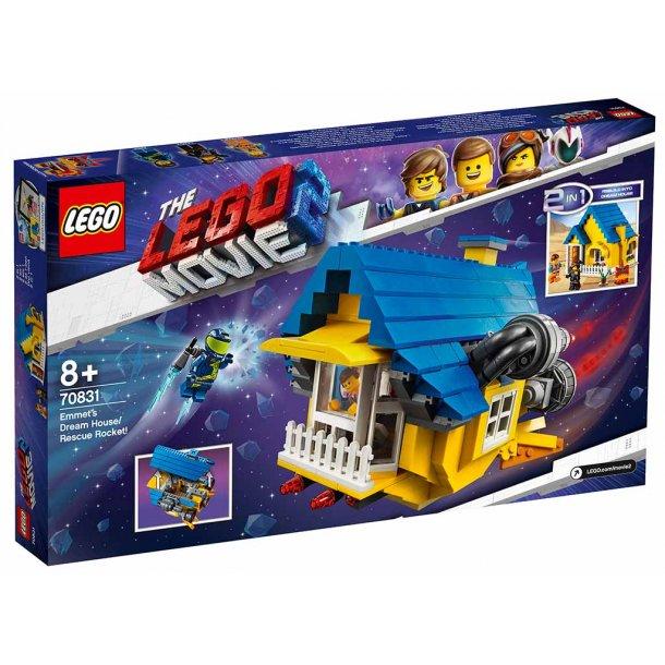 LEGO The Movie2 70831 - Emmets drømmehus/redningsraket