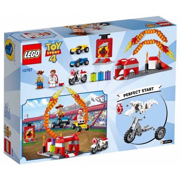 LEGO Toy Story 4 10767 - Duke Cabooms stuntshow